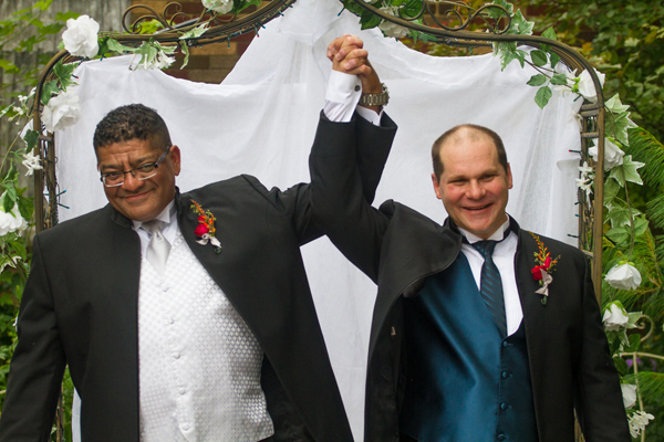 same-sex couples marry legally at Pine Manor Chicago, Your Wedding Your Way! Planning to marry your partner? Why not come to the legal state of Illinois and hold your ceremony at the 5-Star Pine Manor Chicago? Rev Pam has been serving the LBGTQ community since…ALWAYS! And now you can get married in her private home and garden.