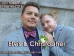 Location Wedding of Elvis Garcia and Christopher Saale, married on July 16th 2016