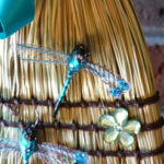 wedding-broom-dragon-flies