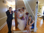 Two Beauties Wed at Pine Manor