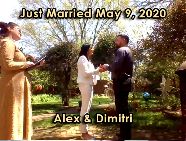 Just Married – Alexandra & Dimitri